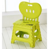 瀛欣加厚折叠凳子塑料--靠背折叠凳