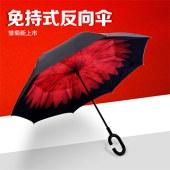 衡利双层反向免持长柄伞HL-FX00