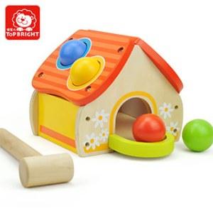 特宝儿 太阳房型敲打台 儿童玩具益智 宝宝大动作训练 婴儿玩具0-1-3岁男孩女孩
