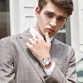 罗西尼6517T01A男士手表