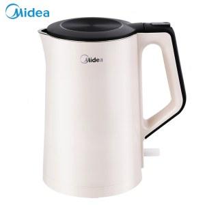 美的(Midea)不锈钢电热水壶1.5升MK-HJ1522