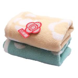 洁丽雅纯棉加厚洗脸面巾柔软强吸水毛巾74X34cm