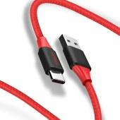 品胜USB极速充电编织数据线1.5米 Type-C 5A